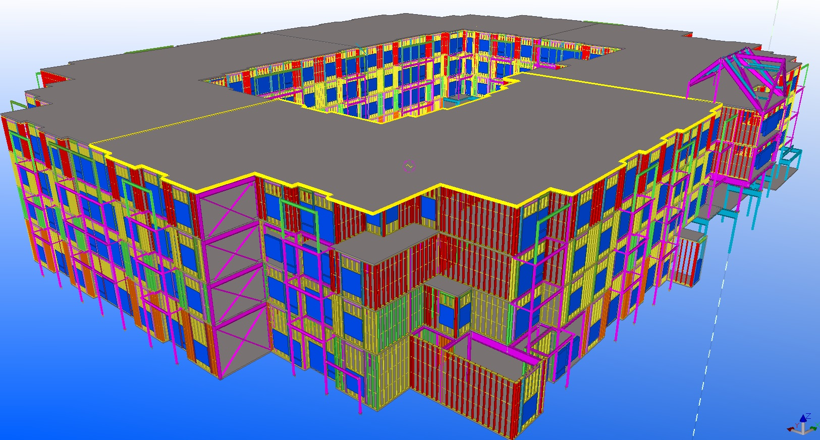 With Our Detailers, Light Weight Building Systems Inc. Uses Advanced  Software To Provide Accurate And Constructible 3D Models Of Our Steel  Structures.